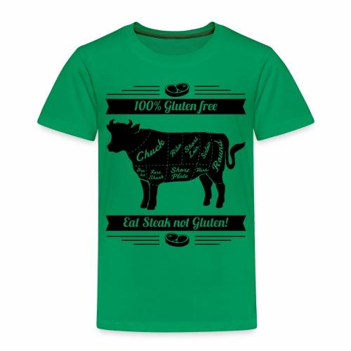 Humorvolles Design für Fleischliebhaber - Kinder Premium T-Shirt
