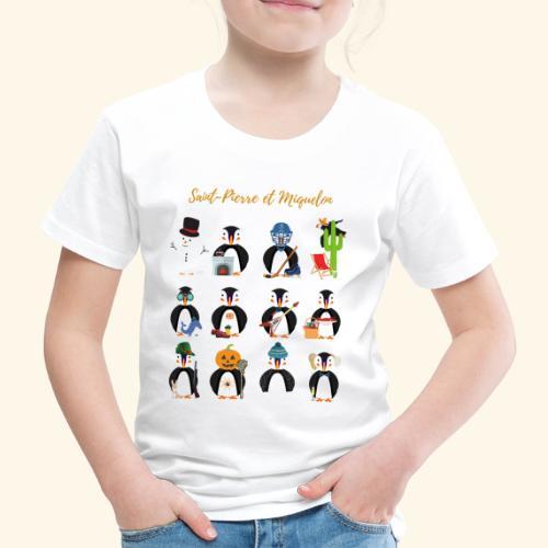 3- SPM Calendrier - T-shirt Premium Enfant