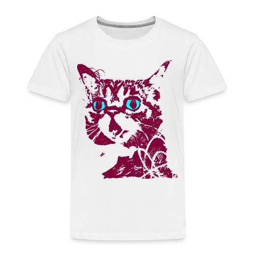 chat violet - T-shirt Premium Enfant