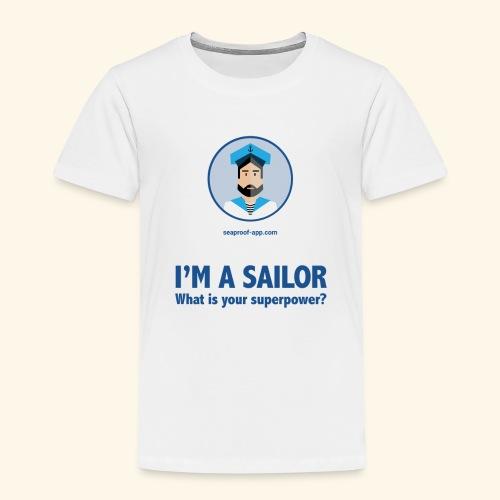 SeaProof Superpower - Kinder Premium T-Shirt