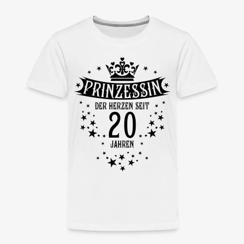 15 Prinzessin der Herzen seit 20 Jahren Geburtstag - Kinder Premium T-Shirt