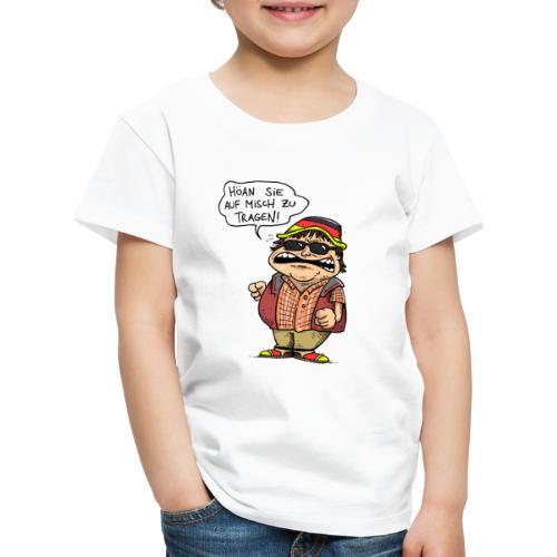 Hutbürger tragen Button - Kinder Premium T-Shirt