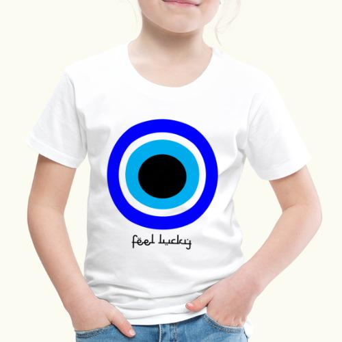 luck eye - Kinderen Premium T-shirt