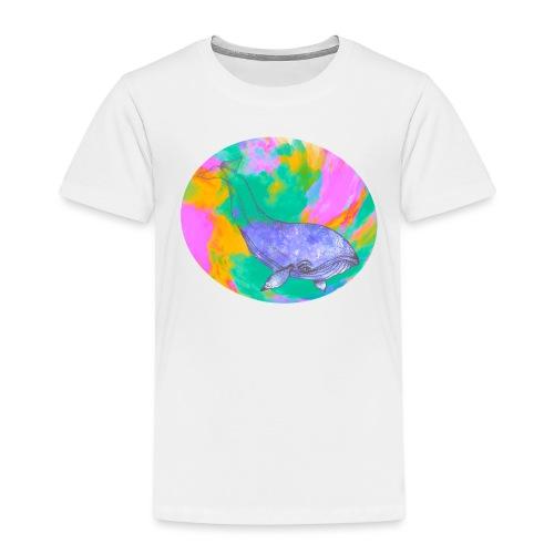 Whale - Premium-T-shirt barn
