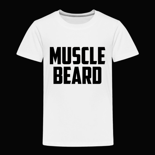 Muscle beard tee - Kids' Premium T-Shirt