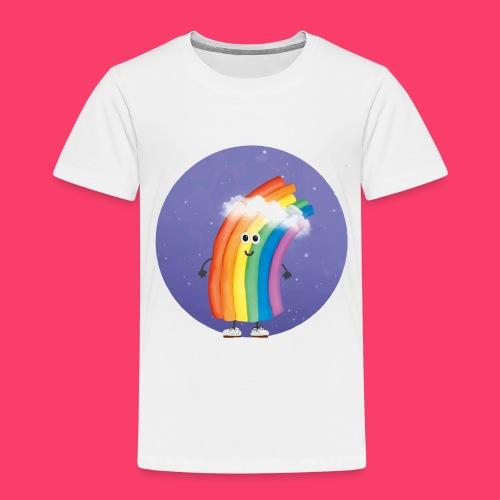 Rudi Regenbogen Sternenhimmel - Kinder Premium T-Shirt