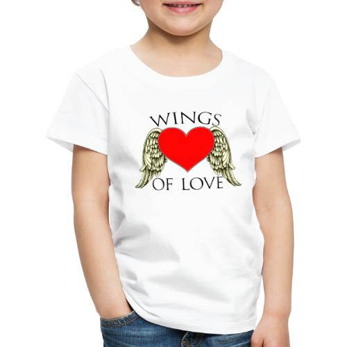wings of love - Kids' Premium T-Shirt