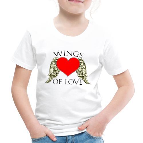 wings of love - Kids' Premium T-Shirt