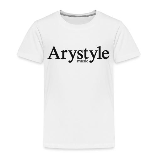 Arystyle Noir - T-shirt Premium Enfant