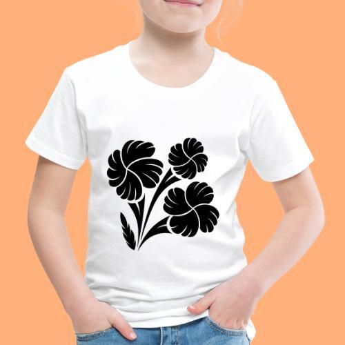 trio fleuri - T-shirt Premium Enfant