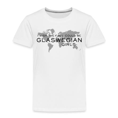 Glaswegian Girls - Kids' Premium T-Shirt