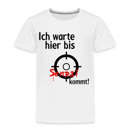 Warten auf Senpai 2v2 - Kinder Premium T-Shirt