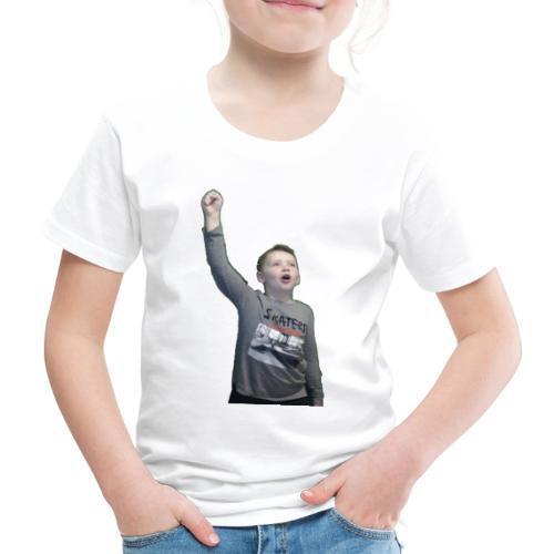 Kenti drar til verdensrommet - Premium T-skjorte for barn