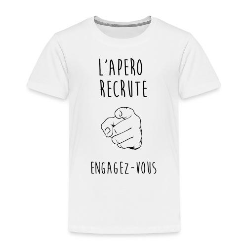L'Apéro Recrute, Engagez-vous - T-shirt Premium Enfant