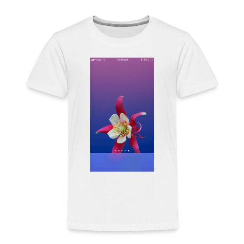 Flower iPhone case - Kids' Premium T-Shirt