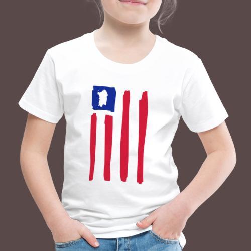 United States of Sardegna - verticale - Maglietta Premium per bambini
