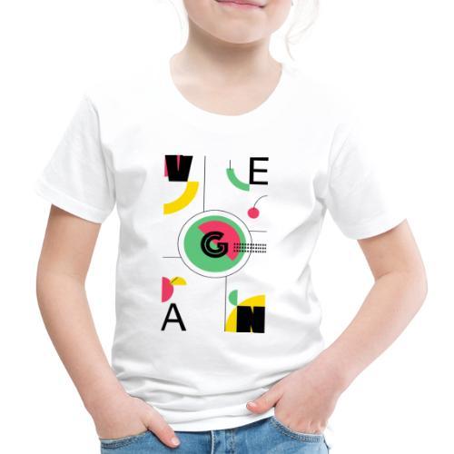 Abstract Vegan - Kids' Premium T-Shirt