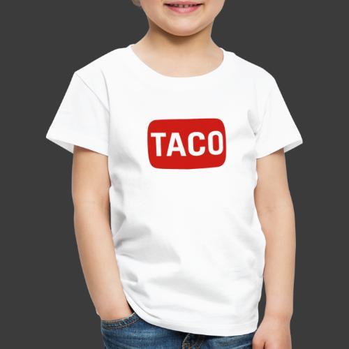 Taco Karsten Youtube Logo 2 - Børne premium T-shirt