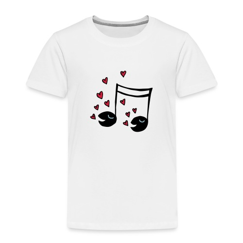 Love tunes - Kinder Premium T-Shirt