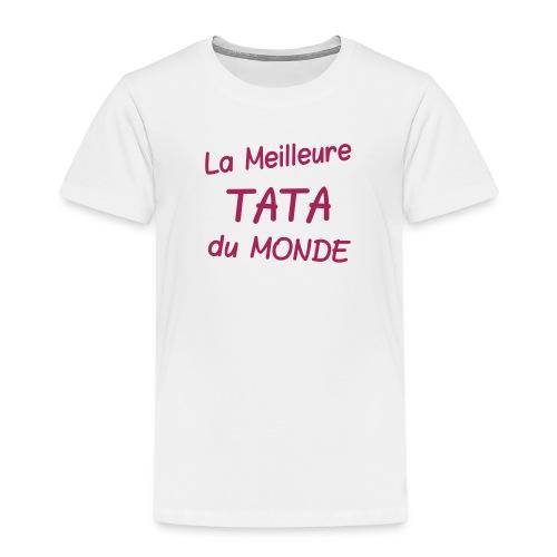 La meilleure tata du monde - T-shirt Premium Enfant