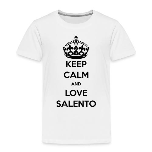 KEEP CALM LOVE SALENTO - Maglietta Premium per bambini