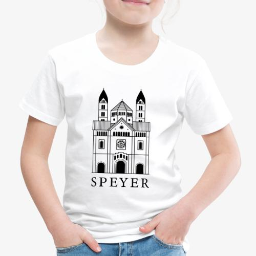 Speyer - Dom - Classic Font - Kinder Premium T-Shirt