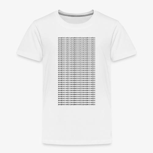 perception - Koszulka dziecięca Premium