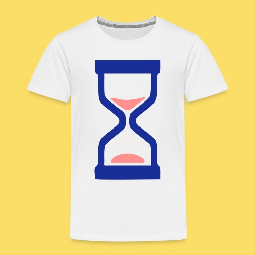 ⏳ ✦°•Hourglass-Sandglass vector design - Kids' Premium T-Shirt