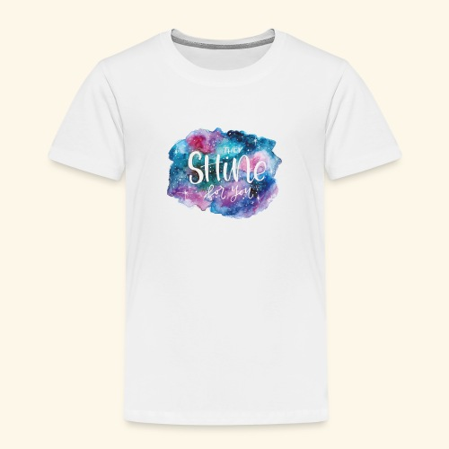 Galaxy shining for you - Camiseta premium niño