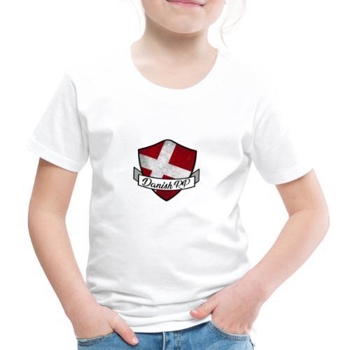 DanishRP Old Logo - Børne premium T-shirt