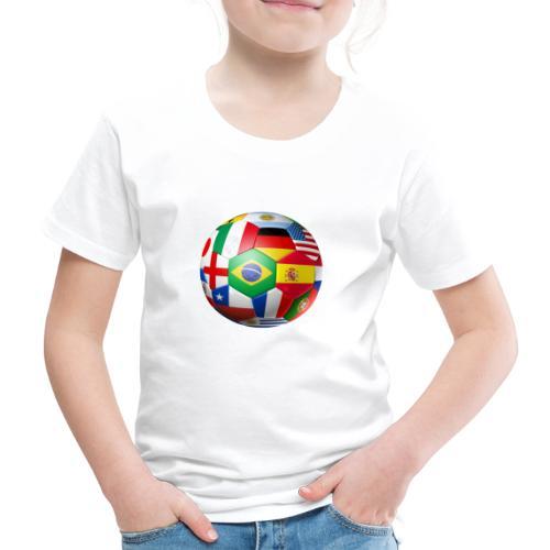 Brasil Bola - Kids' Premium T-Shirt