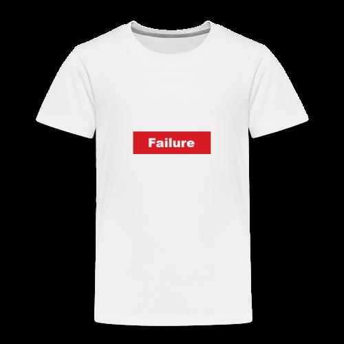 Faliure - Premium T-skjorte for barn