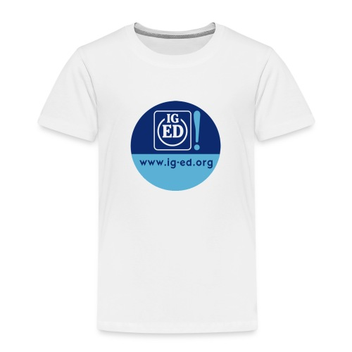 iged rz button 32mm - Kinder Premium T-Shirt