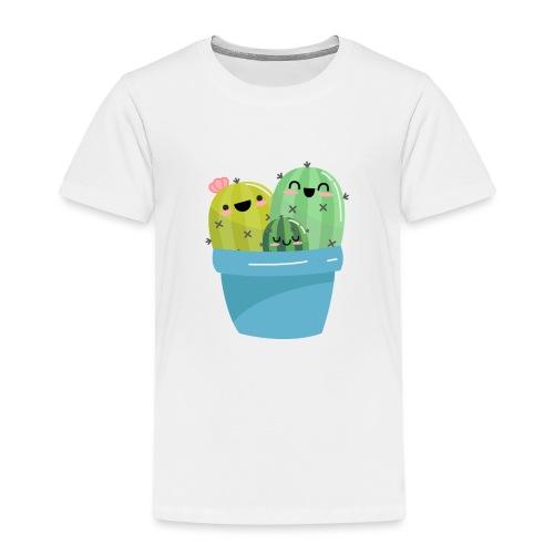 cactus familia - Camiseta premium niño