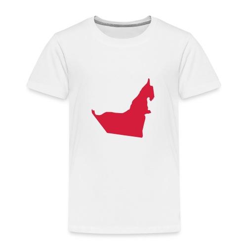 United Arab Emirates Map - Kinder Premium T-Shirt