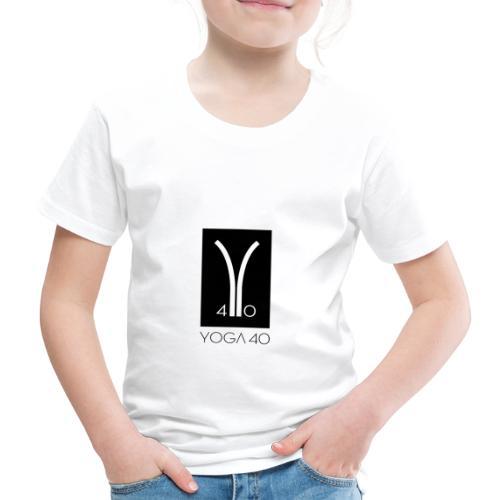 Y40 logotipo negro - Camiseta premium niño