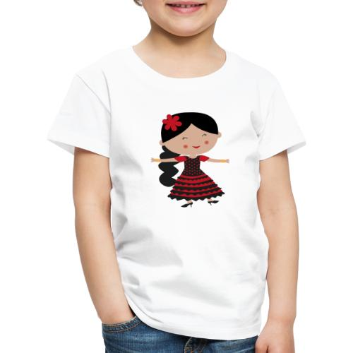 Happy Meitlis - Spanien - Kinder Premium T-Shirt