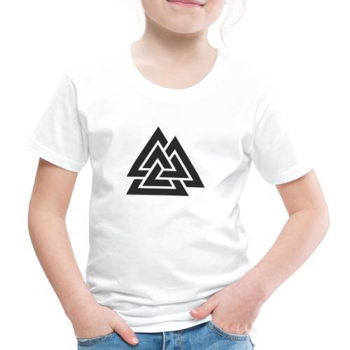 Valknut. Símbolo vikingo - Camiseta premium niño