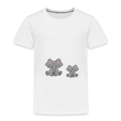 lustiger Elefant - Kinder Premium T-Shirt