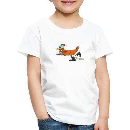 Flori Hahn löscht - Kinder Premium T-Shirt
