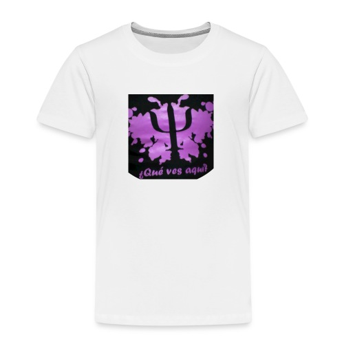 Logotipo Canal PsicoVlog - Kids' Premium T-Shirt