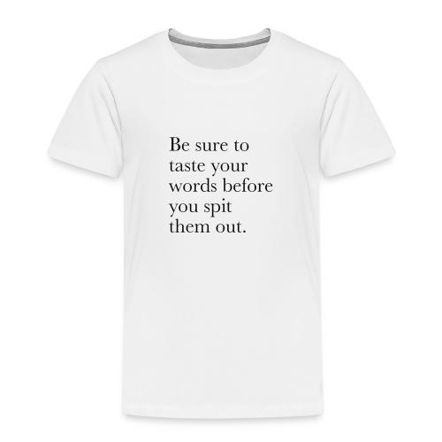 new life quotes - Kids' Premium T-Shirt