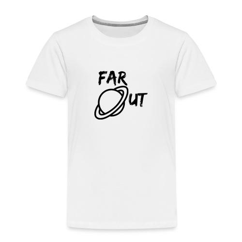 Far_Out_black - Camiseta premium niño