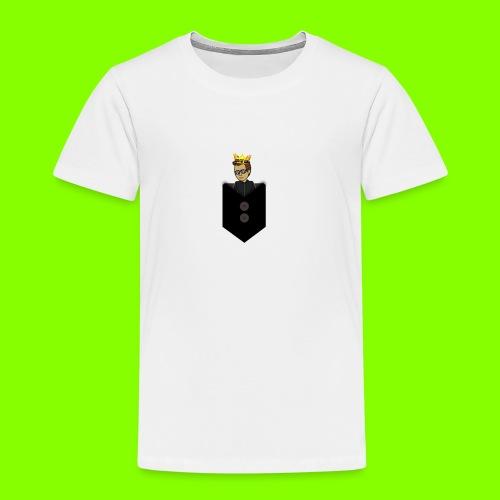 T-Shirt De Cor Dupla c/ Bolso - Kids' Premium T-Shirt