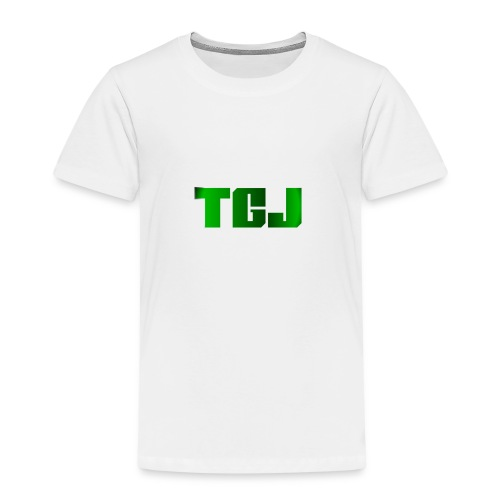 TGJ OFFICIAL LOGO - Børne premium T-shirt