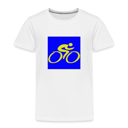 Tour de Epe Logo 2017 2018 2 png - Kinderen Premium T-shirt