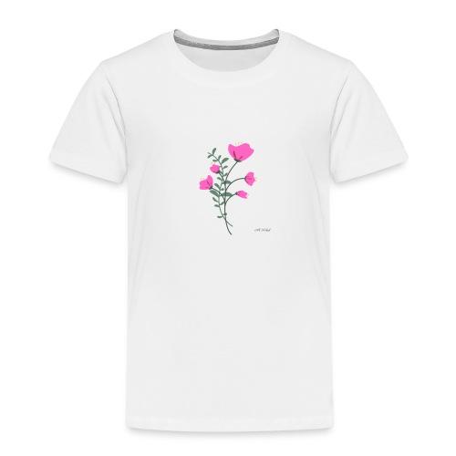 fleure violette - T-shirt Premium Enfant