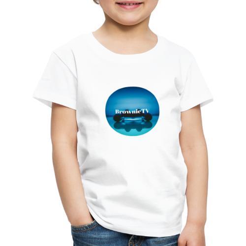 Brownie TV Design - Kinder Premium T-Shirt