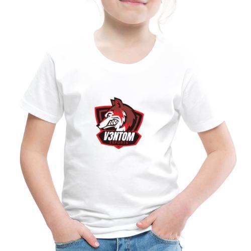 CLAN LOGO V3NTOM - Kinder Premium T-Shirt