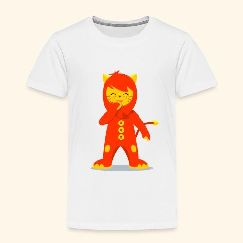 Nene León riendo - Camiseta premium niño